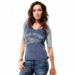 Majestic Women's New England Patriots Goal to Win Tee