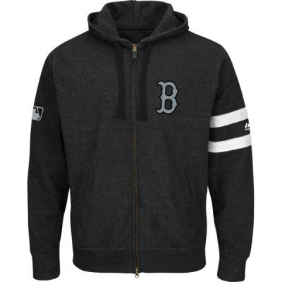 Boston Red Sox Men's Clubhouse Full-Zip Hoodie