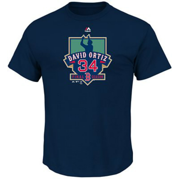 Majestic Boston Red Sox David Ortiz Final Season Tee