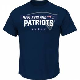 Majestic New England Patriots Men's Of Great Value Tee