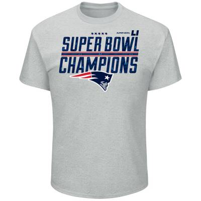 New England Patriots Men's Super Bowl LI Champions Tee