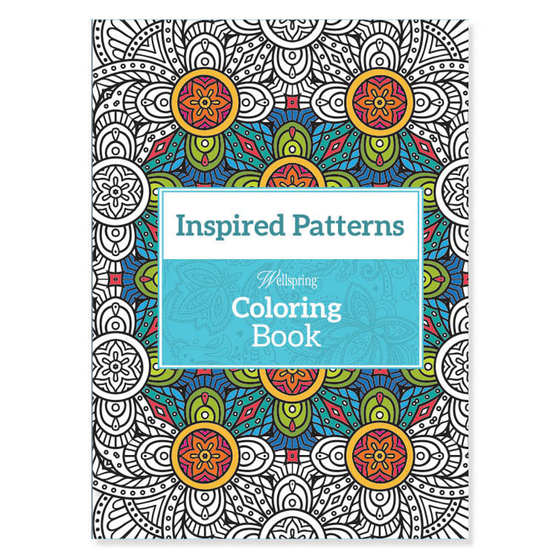 wellspring inspired patterns travel coloring book - Travel Coloring Book