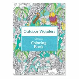 Wellspring Outdoor Wonders Travel Coloring Book