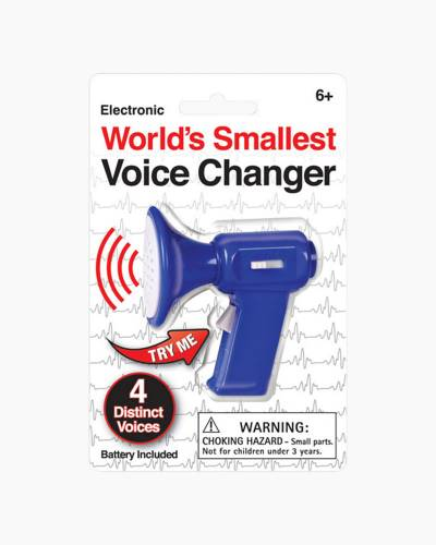 World's Smallest Voice Changer (Assorted)
