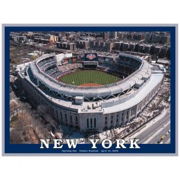White Mountain Puzzles New York Yankee Stadium Puzzle