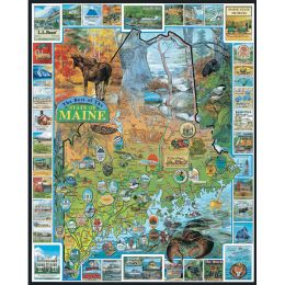 White Mountain Puzzles 1000-Piece Vacationland Maine