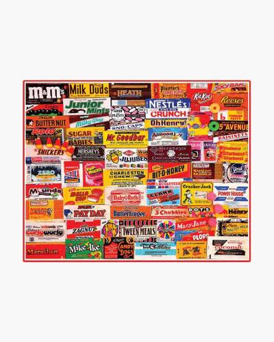 1000-Piece Candy Wrapper Family Puzzle