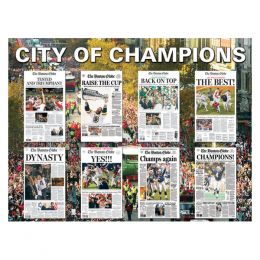 White Mountain Puzzles City of Champions Puzzle (550pc)
