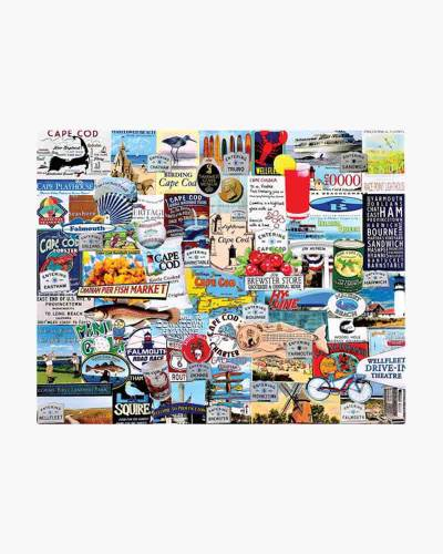 I Love Cape Cod Jigsaw Puzzle (1,000 pc.)