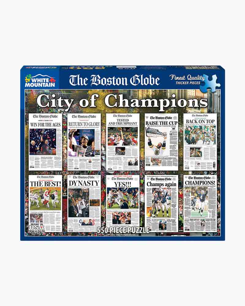 White Mountain Puzzles City of Champions Jigsaw Puzzle (550 pc.)