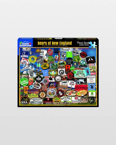 Beers of New England Jigsaw Puzzle (1,000 pc)