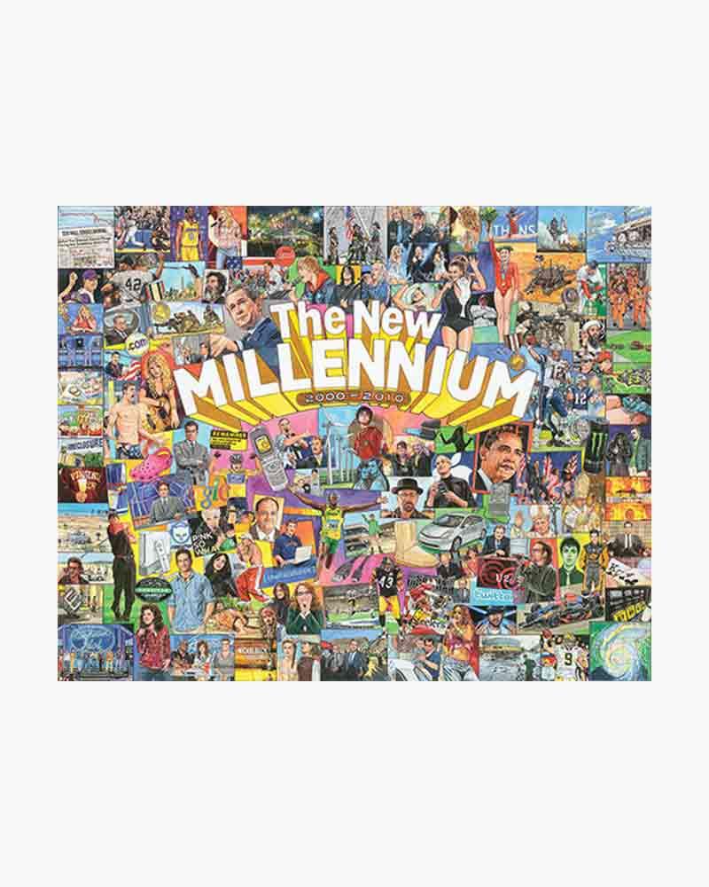 The New Millennium Jigasw Puzzle (1,000 pc)