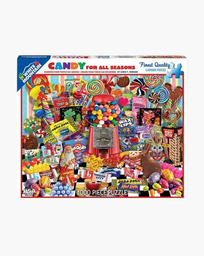 Candy for All Seasons Jigsaw Puzzle (1,000 pc.)