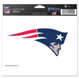 Wincraft New England Patriots Multi-Use 5x6 Decal