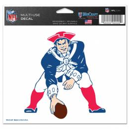 Wincraft New England Patriots Throwback Ultra Decal