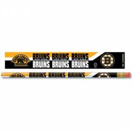 Wincraft Boston Bruins 6 Pack Pencil set