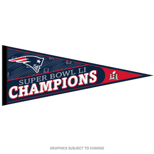 Wincraft New England Patriots Super Bowl LI Pennant