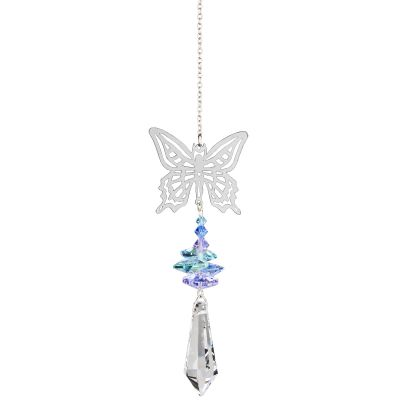 Crystal Fantasy - Butterfly Suncatcher
