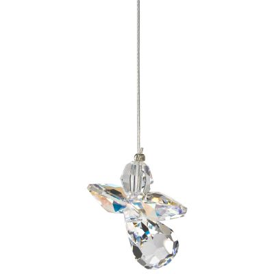 Crystal Angel Suncatcher - Aurora Borealis