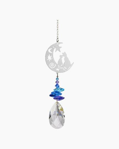 Crystal Fancy Suncatcher-Cats