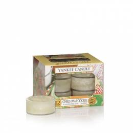 Yankee Candle Christmas Cookie Scented Tea Lights (box of 12)