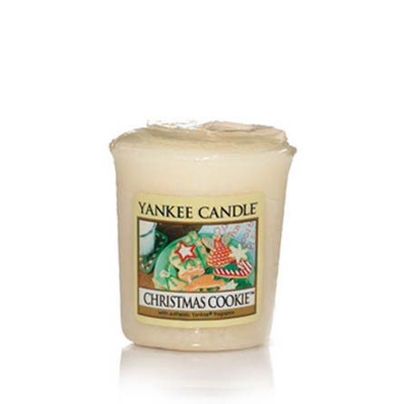 Yankee Candle Christmas Cookie Samplers Votive Candle