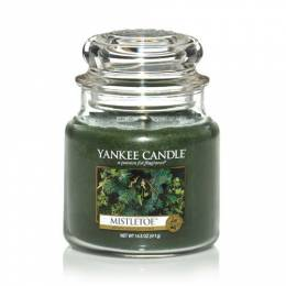 Yankee Candle Mistletoe Medium Jar Candle