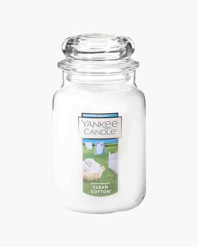 Clean Cotton Large Jar Candle