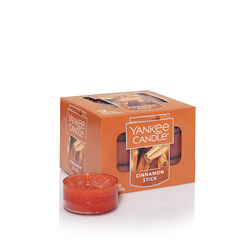 Yankee Candle Cinnamon Stick Scented Tea Lights (box of 12)
