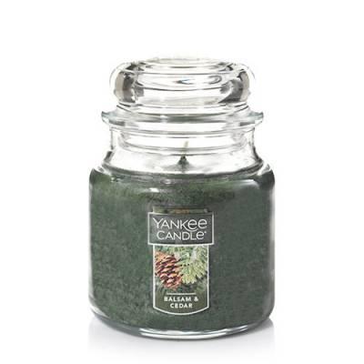 Balsam and Cedar Medium Jar Candle