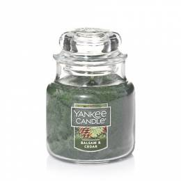 Yankee Candle Balsam and Cedar Small Jar Candle