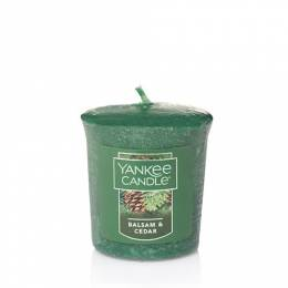 Yankee Candle Balsam and Cedar Samplers Votive Candle