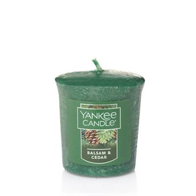 Balsam and Cedar Samplers Votive Candle