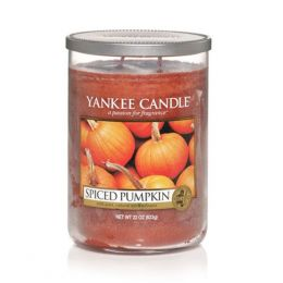 Yankee Candle Spiced Pumpkin Large 2-Wick Tumbler Candle