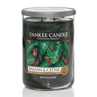 Balsam and Cedar Large 2-Wick Tumbler Candle
