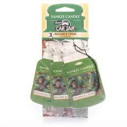 Yankee Candle Balsam and Cedar Car Jar 3-Pack
