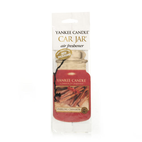 Yankee Candle Sparkling Cinnamon Car Jar Single