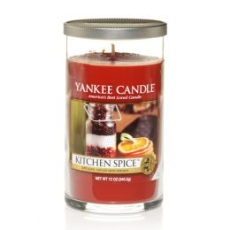 Yankee Candle Kitchen Spice Medium Perfect Pillar Candle