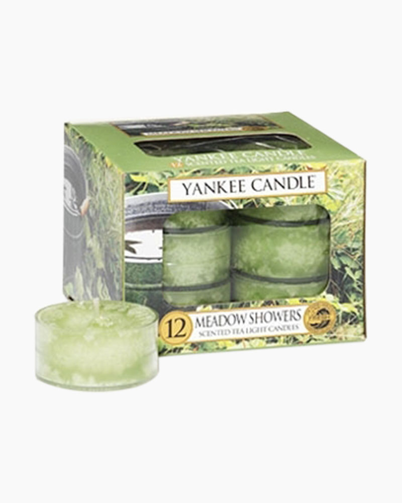 Yankee Candle Meadow Showers Scented Tea Lights (box of 12)