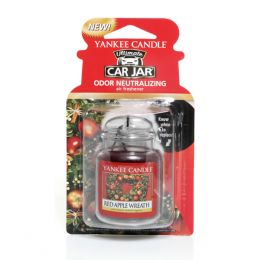 Yankee Candle Red Apple Wreath Car Jar Ultimate