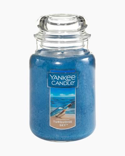 Turquoise Sky Large Jar Candle