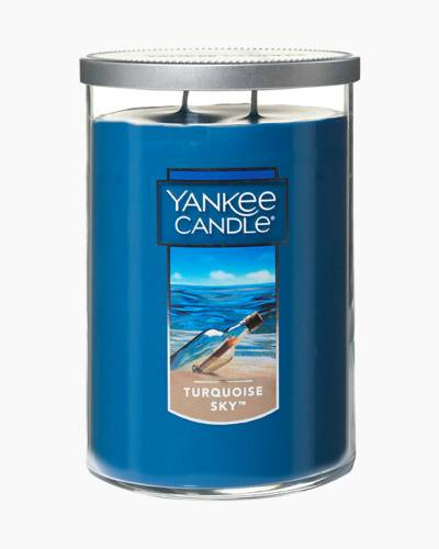 Turquoise Sky Large 2-Wick Tumbler Candle