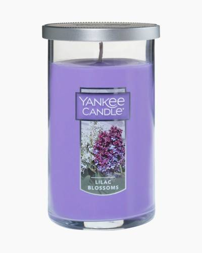 Lilac Blossoms Medium Perfect Pillar Candle