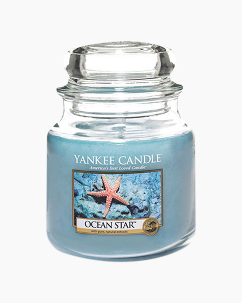 Yankee Candle Ocean Star Medium Jar Candle