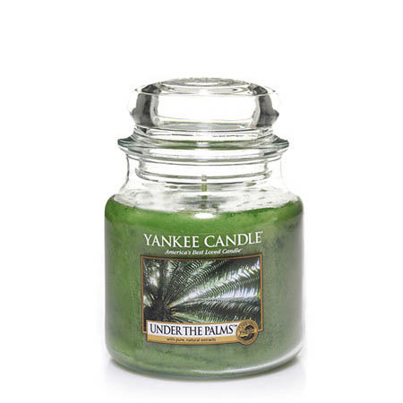 Yankee Candle Under the Palms Medium Jar Candle