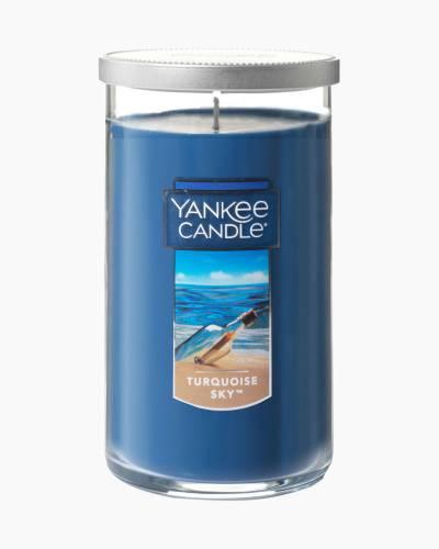 Turquoise Sky Medium Perfect Pillar Candle