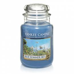 Yankee Candle Blue Summer Sky Large Jar Candle