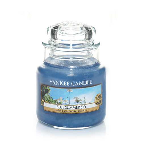 Yankee Candle Blue Summer Sky Small Jar Candle