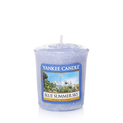 Yankee Candle Blue Summer Sky Samplers Votive Candle
