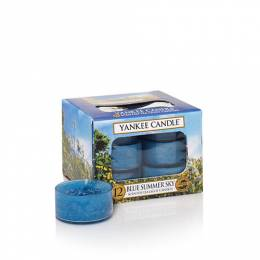 Yankee Candle Blue Summer Sky Scented Tea Lights